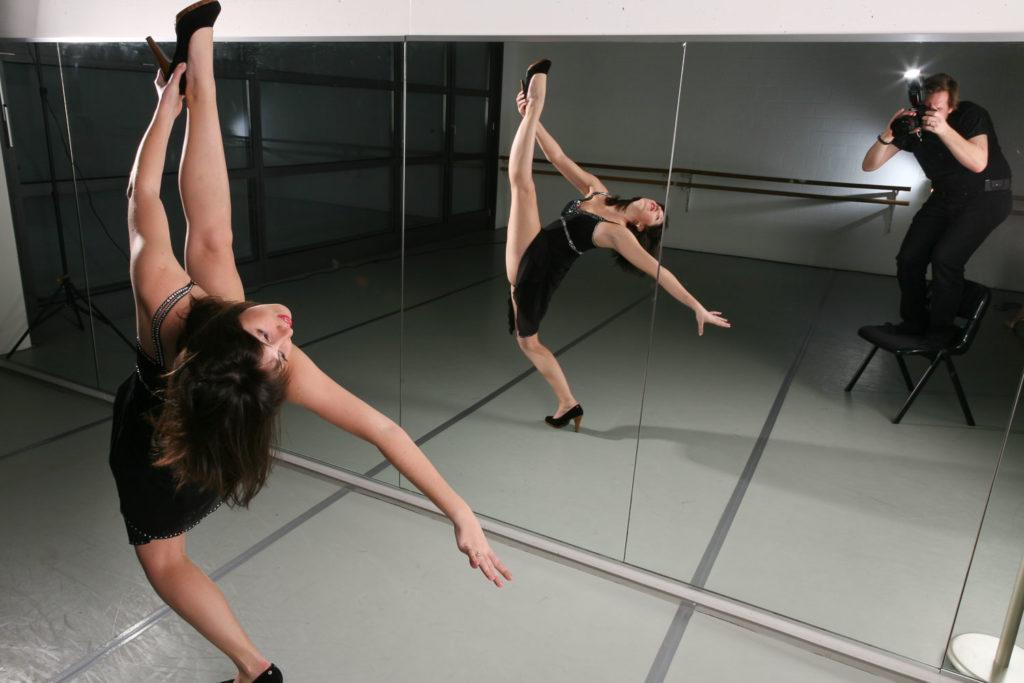 Der Fotograf und die Ballerina