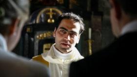 italienischer Pfarrer
