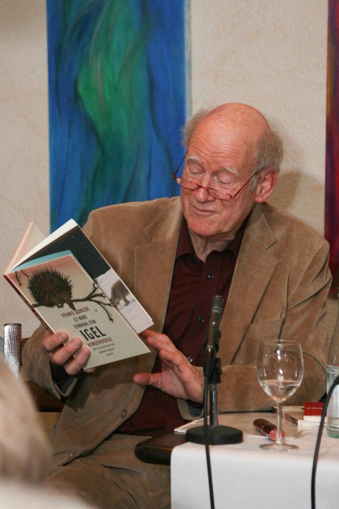 Franz Hohler Literatur Eventfotografie