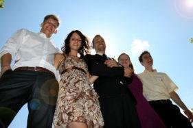 Trauzeugen Hochzeitsfoto