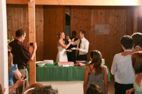 Kuchenzeremonie Hochzeit