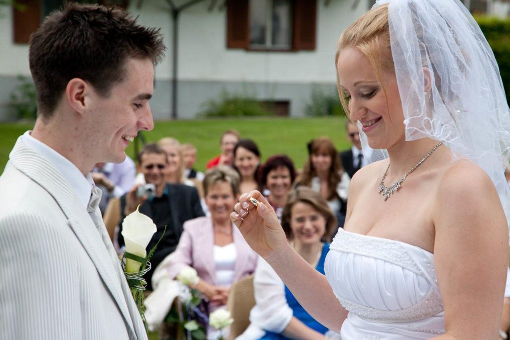 Trauzeremonie Hochzeitsfoto