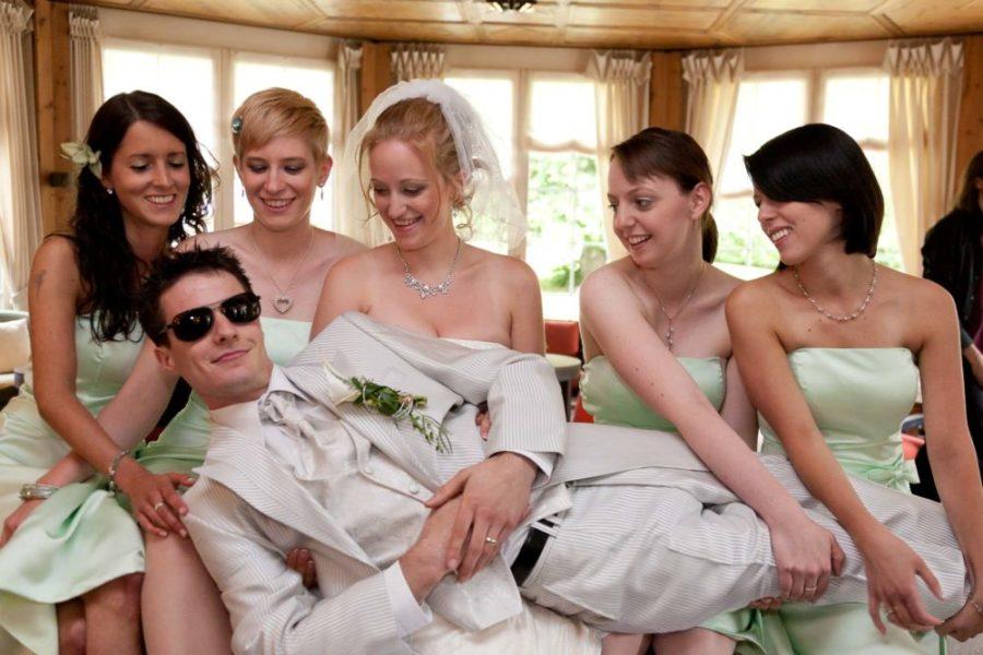 der coole bräutigam