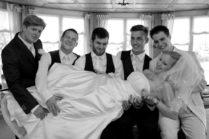 Amüsantes Hochzeitfotoshooting