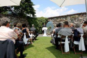 Hochzeitszeremonie in Brissago