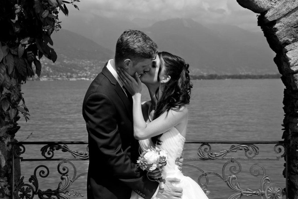 Brautpaar nach Hochzeitszeremonie