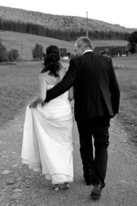 Brautpaar im Schwarzwald