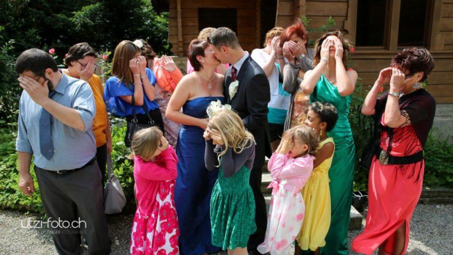 Hochzeit und keiner schaut hin