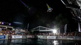 Freestyle-Night, Wasserschanze Velo