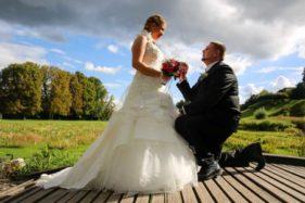 Braut wird geehrt