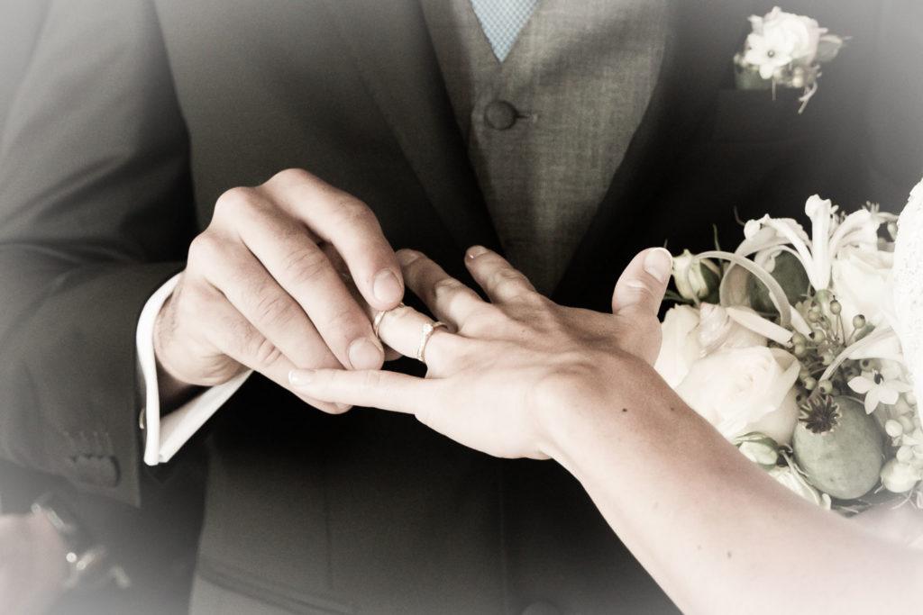 Ringzeremonie Hochzeitsfotograf