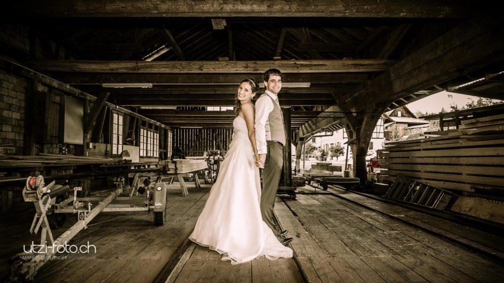 Brautpaar Fotoshooting Hochzeitsfotografie