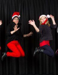 Weihnachtsfotoshooting