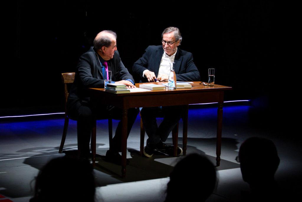 Klaus Merz und Charles Linsmayer