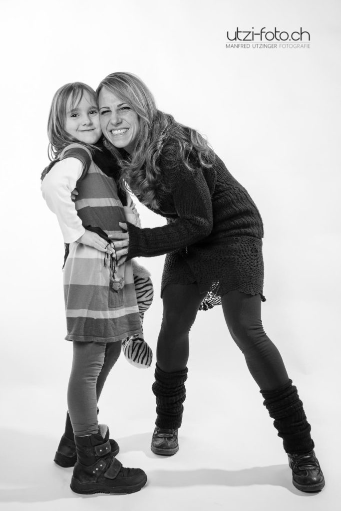Mutter und Tochter, Fotograf Zürich