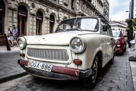 Trabant in Ungarn