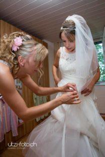 Ankleide Hochzeitsofotoshooting