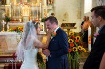 Streicheleinheiten bei der Hochzeit