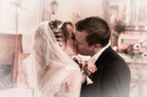 Hochzeitskuss Kirchliche Trauuung