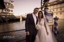 Brautpaar Zürich Storchen