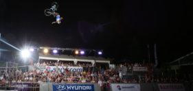 Freestyle-Night, Velo-Akrobatik