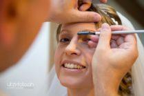 Schminken der Braut Fotograf