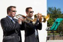 Trompeter an Hochzeit