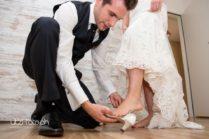 Ankleide der Braut